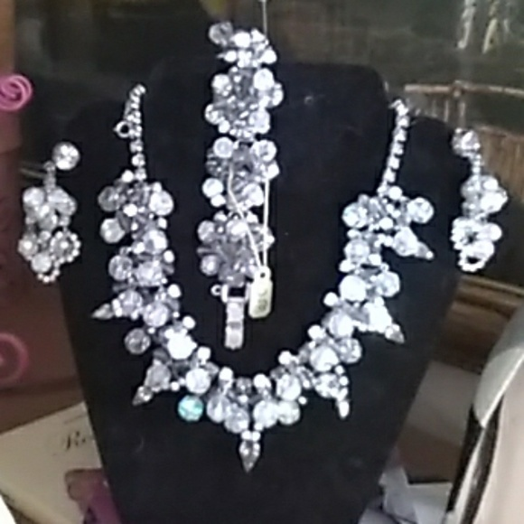 unknown Jewelry - Vintage art Deco jewelry set